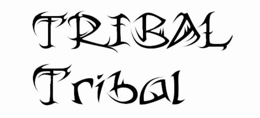 Tribal tribal