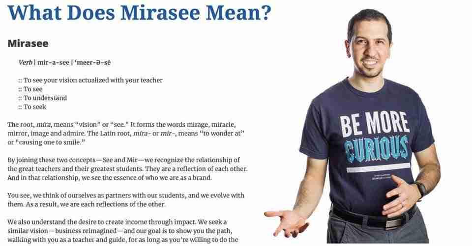 Mirasee
